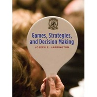 Games Strategies Decision Making Book Cover